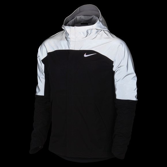 7a64094a4305 NWT Nike Men s Running Reflective Jacket Small